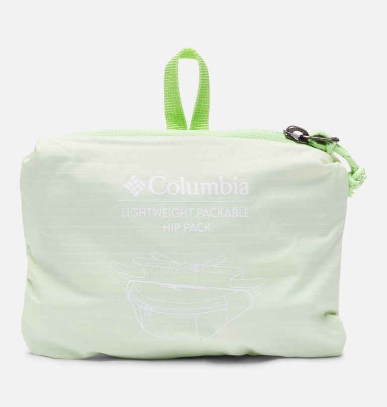 Lightweight Packable Hip Pack | 313 | O/S Lightweight Packable Hip Pack, Light Lime, a2