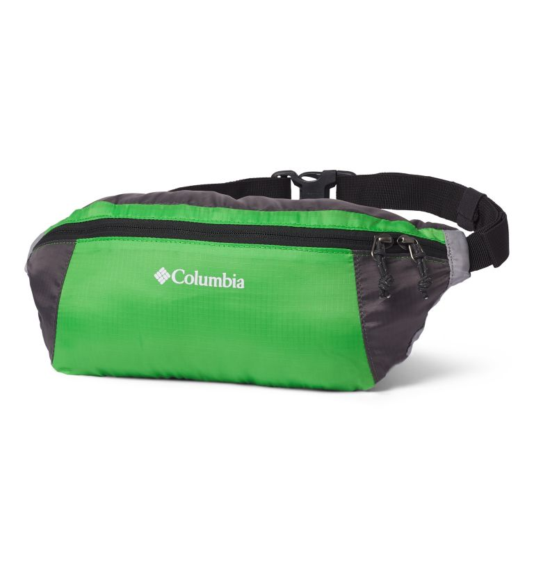 Lightweight Packable Hip Pack | 349 | O/S Sac Banane Compactable Léger, Green Boa, City Grey, front