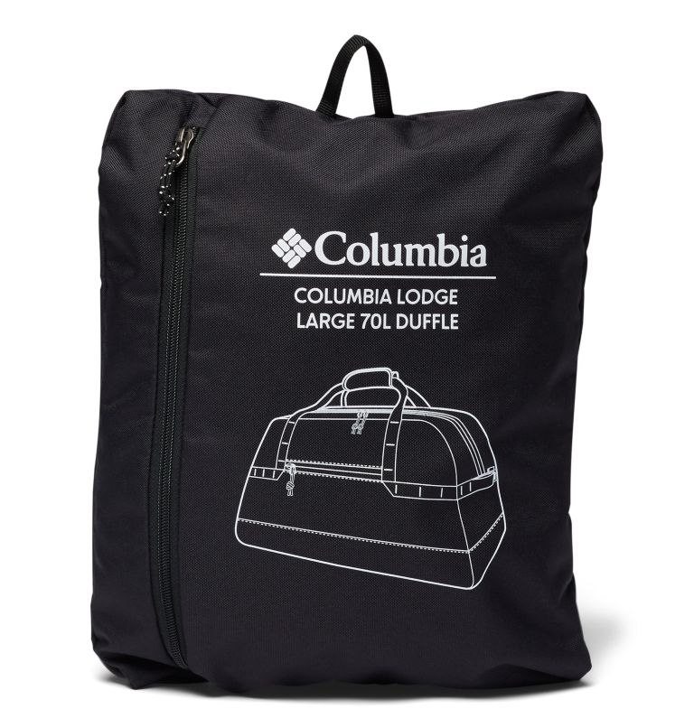 Columbia Lodge™ Large 70L Duffle | 010 | O/S Columbia Lodge™ Large 70L Duffle, Black, a1