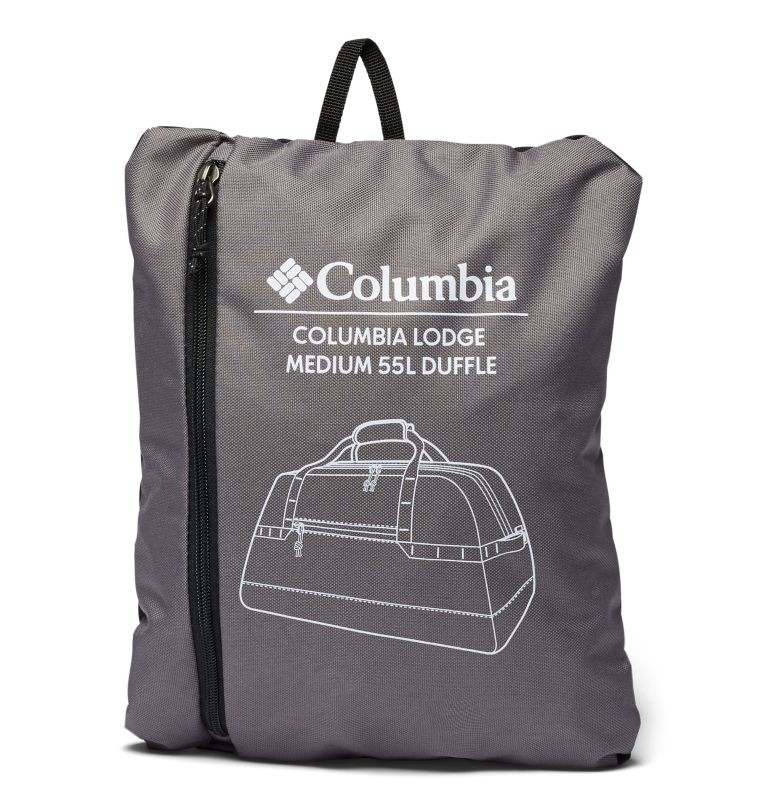 Columbia Lodge™ Medium 55L Duffle | 023 | O/S Columbia Lodge™ Medium 55L Duffle, City Grey, Black, a1