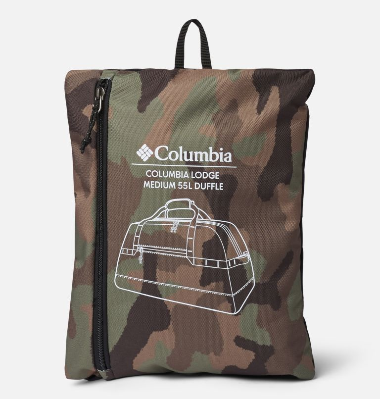 Columbia Lodge™ Medium 55L Duffle | 316 | O/S Columbia Lodge™ Medium 55L Duffle, Cypress Camo, Black, a1