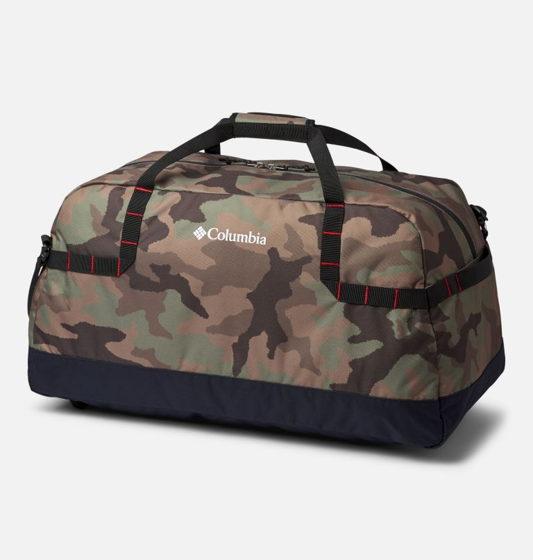 Columbia Lodge™ Medium 55L Duffle | 316 | O/S Columbia Lodge™ Medium 55L Duffle, Cypress Camo, Black, back