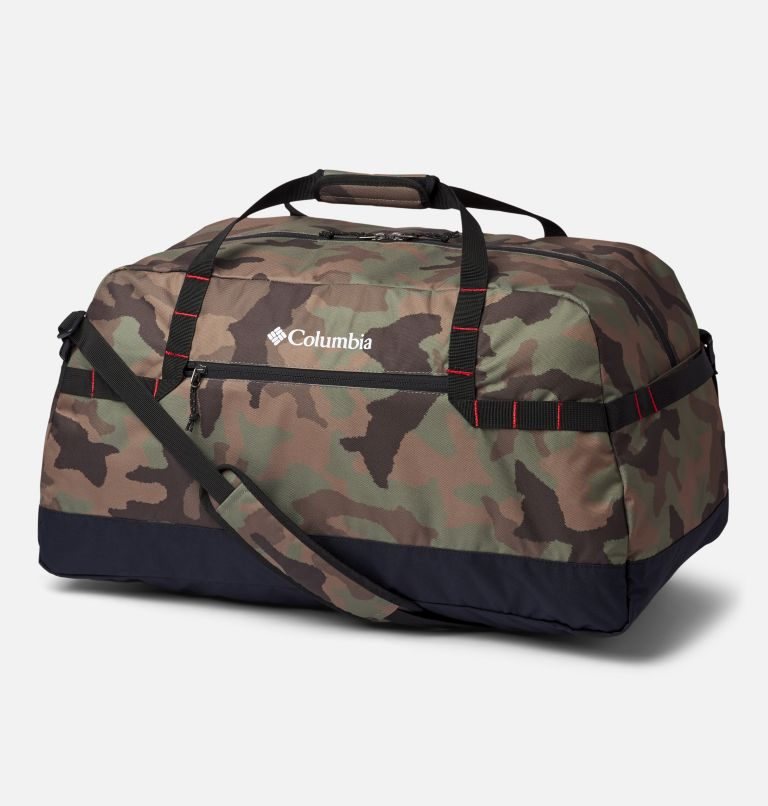 Columbia Lodge™ Medium 55L Duffle | 316 | O/S Columbia Lodge™ Medium 55L Duffle, Cypress Camo, Black, front