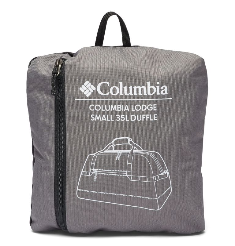 Columbia Lodge™ Small 35L Duffle | 023 | O/S Columbia Lodge™ Small 35L Duffle, City Grey, Black, a1