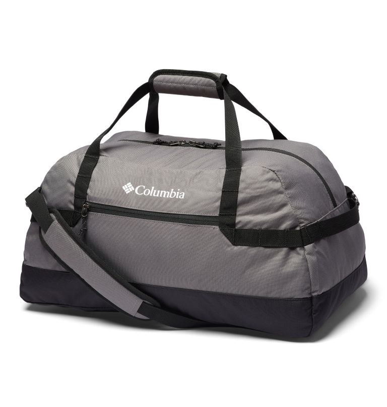 Columbia Lodge™ Small 35L Duffle | 023 | O/S Columbia Lodge™ Small 35L Duffle, City Grey, Black, front