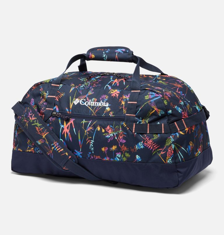 Columbia Lodge™ Small 35L Duffle | 472 | O/S Columbia Lodge™ Small 35L Duffle, Dark Nocturnal Art Bouquet, front
