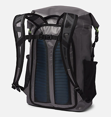 PFG Force XII™ 35L Rolltop Backpack Force XII™ 35L Rolltop Backpack | 487 | O/S, City Grey, Jade Lime, back