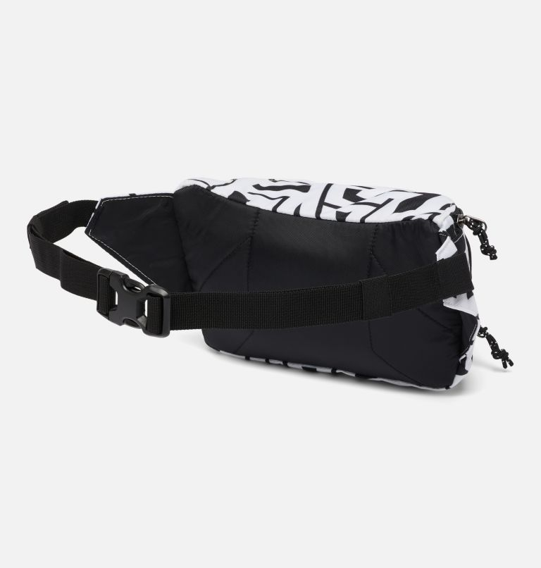 Zigzag™ Hip Pack | 100 | O/S Zigzag™ 1L Hip Pack, White Typo, Black, back