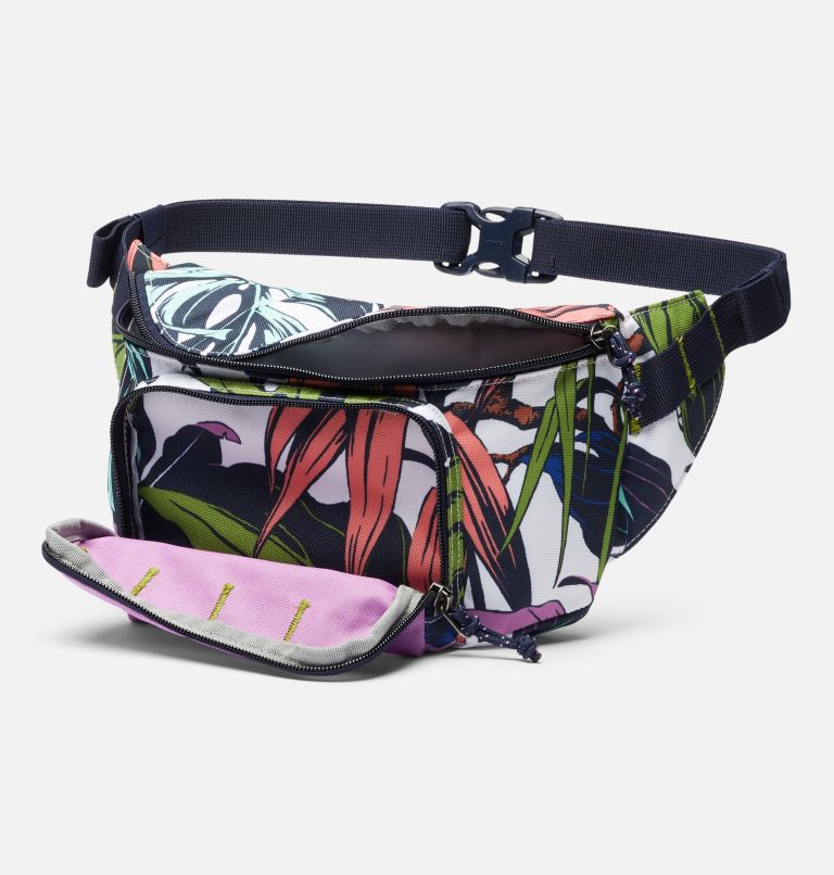 Zigzag™ Hip Pack   101   O/S Zigzag™ 1L Hip Pack, White Toucanical, Blossom Pink, a1