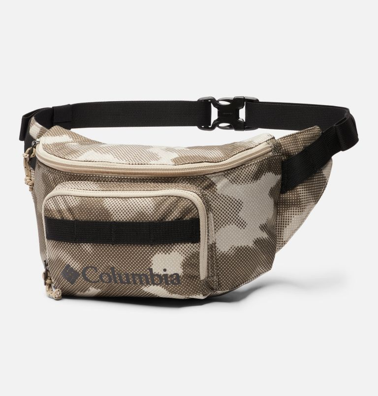Zigzag™ Hip Pack   271   O/S Zigzag™ 1L Hip Pack, Ancient Fossil Spotted Camo, front