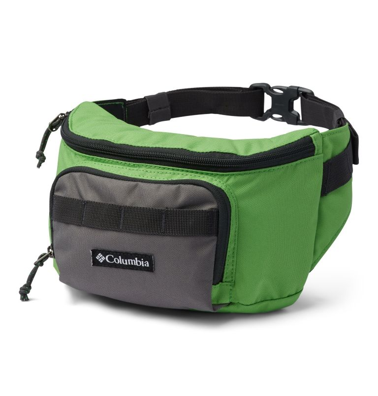 Zigzag™ Hip Pack | 349 | O/S Marsupio Zigzag™, Green Boa, City Grey, front