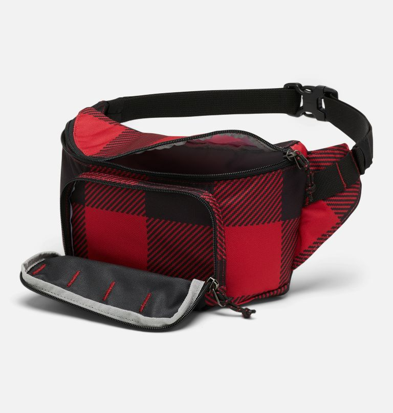 Zigzag™ Hip Pack | 613 | O/S Zigzag™ 1L Hip Pack, Mountain Red Check Print, a1
