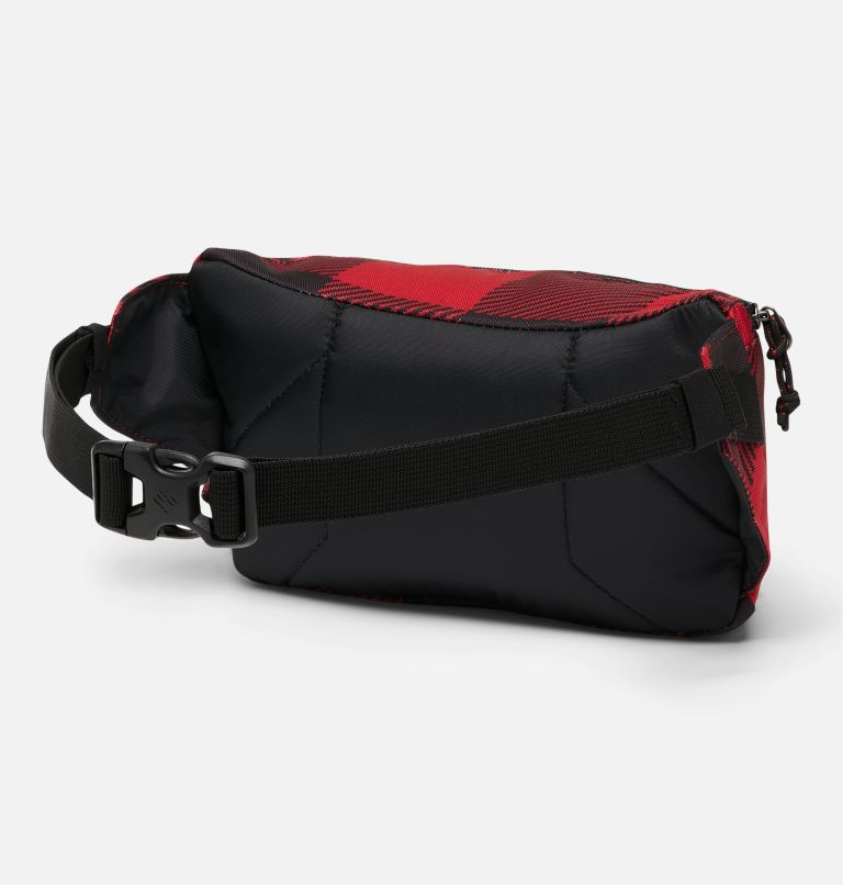 Zigzag™ Hip Pack | 613 | O/S Zigzag™ 1L Hip Pack, Mountain Red Check Print, back