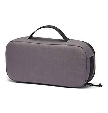 Sac pour accessoires Accessory Case | 011 | O/S, City Grey Heather, Black, back