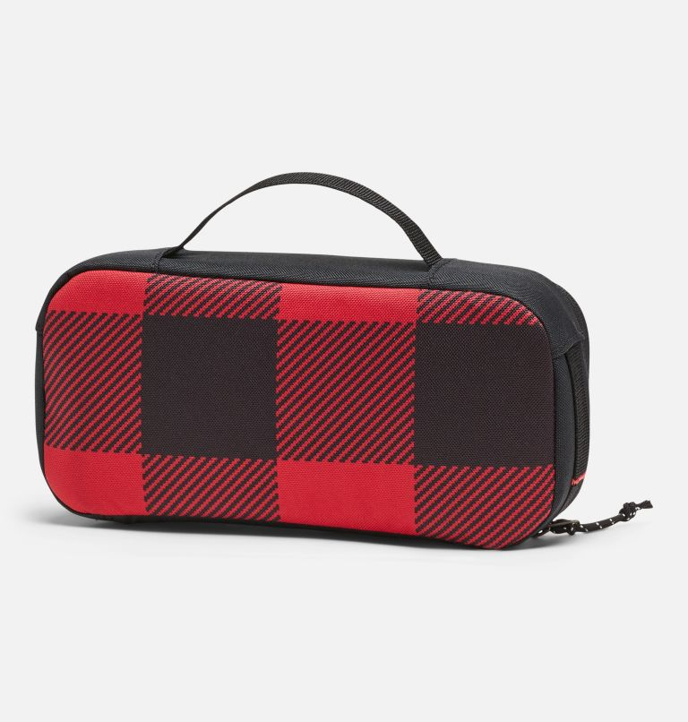 Accessory Case   613   O/S Sac pour accessoires, Mountain Red Check Print, Black, back