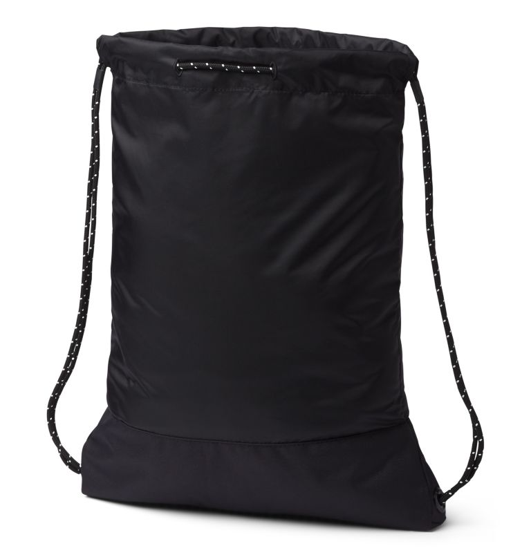 Drawstring Pack | 010 | O/S Drawstring Pack, Black, back