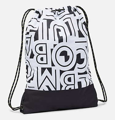 Drawstring Pack Drawstring Pack | 511 | O/S, White Typo, Black, back