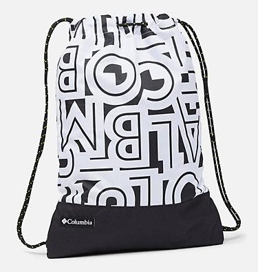 Drawstring Pack Drawstring Pack | 100 | O/S, White Typo, Black, front
