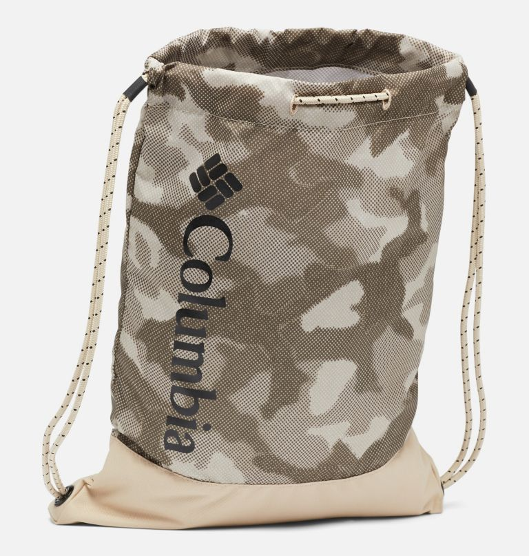 Drawstring Pack   271   O/S Drawstring Pack, Ancient Fossil Spotted Camo, a1