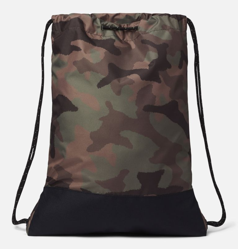 Drawstring Pack | 316 | O/S Drawstring Pack, Cypress Camo, Black, back