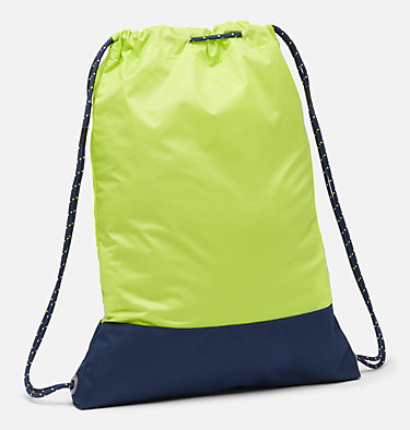 Drawstring Pack Drawstring Pack | 511 | O/S, Bright Chartreuse, Collegiate Navy, back