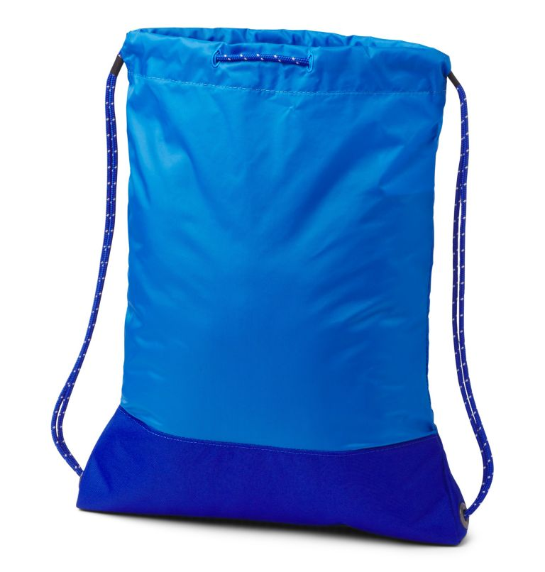 Drawstring Pack   463   O/S Drawstring Pack, Azure Blue, Azul, back