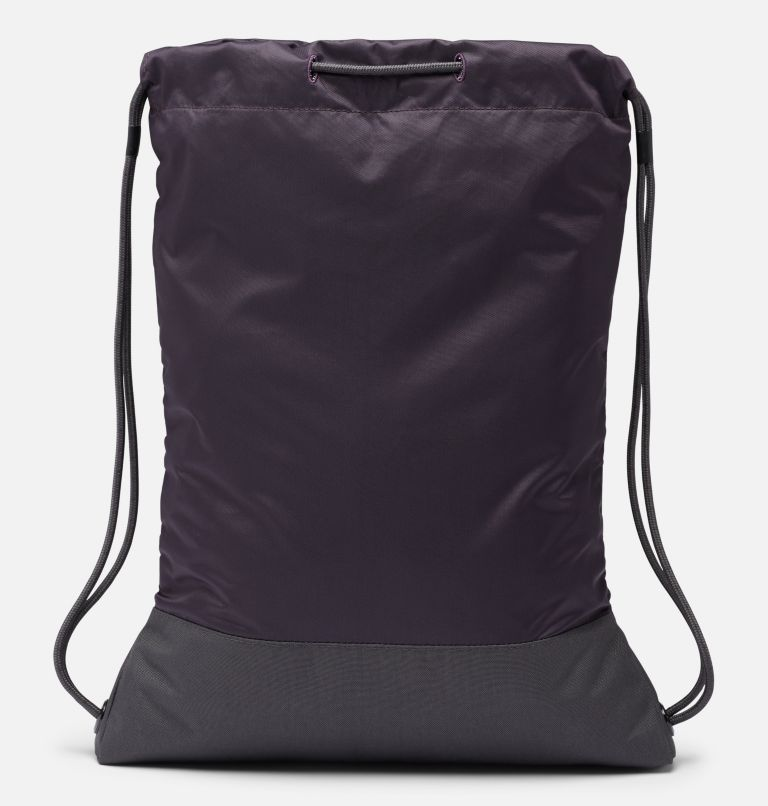 Drawstring Pack | 511 | O/S Drawstring Pack, Dark Purple, Shark, back