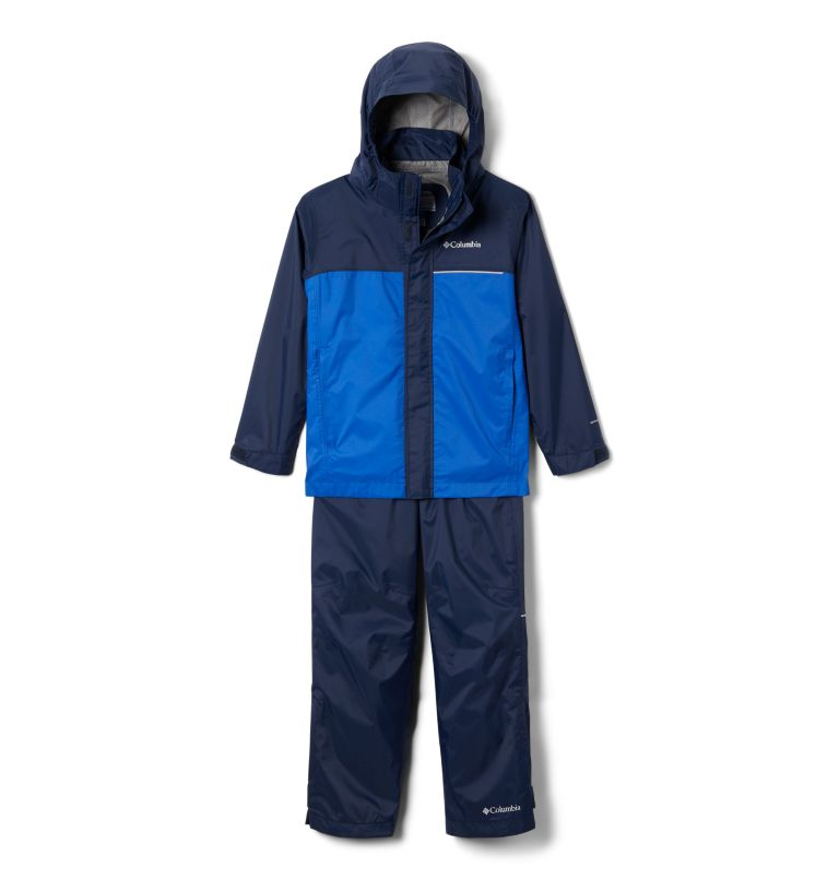 Simpson Sanctuary™ II Rain Set | 464 | XS Youth Simpson Sanctuary™ II Rain Set, Collegiate Navy, Azul, back