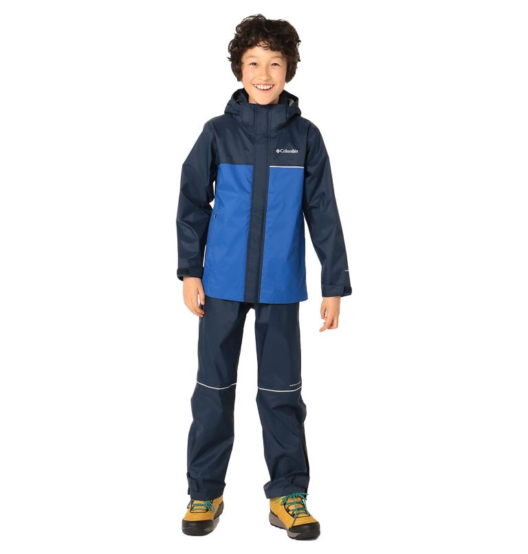 Simpson Sanctuary™ II Rain Set | 464 | M Youth Simpson Sanctuary™ II Rain Set, Collegiate Navy, Azul, front