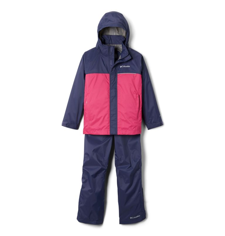 Simpson Sanctuary™ II Rain Set | 466 | S Youth Simpson Sanctuary™ II Rain Set, Nocturnal, Cactus Pink, back