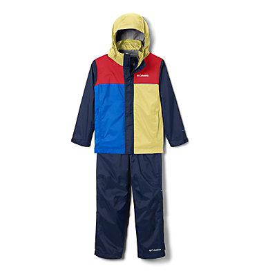 Kids' Simpson Sanctuary™ II Rain Set Simpson Sanctuary™ II Rain Set | 729 | L, Buttercup, Collegiate Navy, Mountain Red, back
