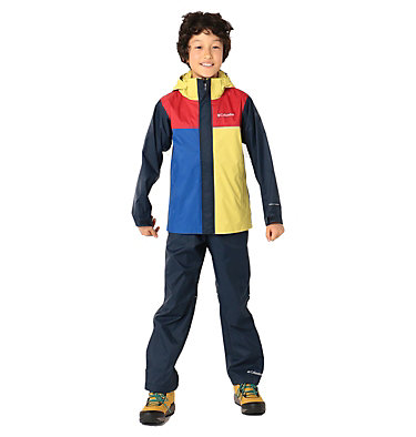 Kids' Simpson Sanctuary™ II Rain Set Simpson Sanctuary™ II Rain Set | 729 | L, Buttercup, Collegiate Navy, Mountain Red, front