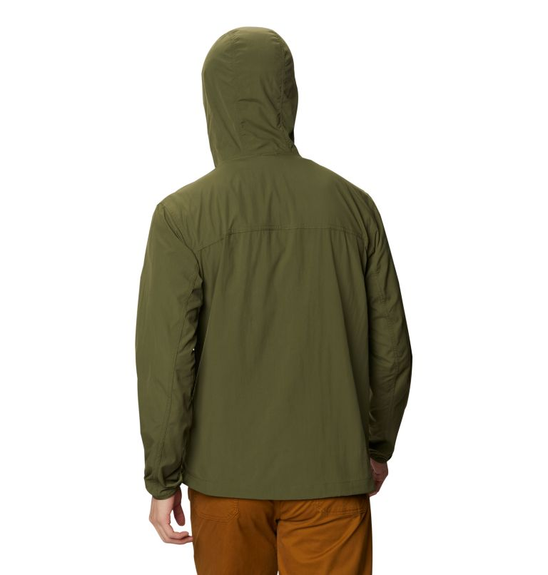 Echo Lake™ Hoody | 306 | S Men's Echo Lake™ Hoody, Dark Army, back