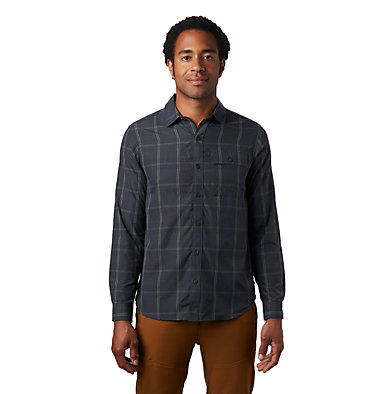 Men's Greenstone™ Long Sleeve Shirt Greenstone™ Long Sleeve Shirt | 663 | L, Dark Storm, front