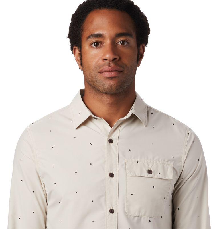 Greenstone™ Long Sleeve Shirt | 165 | L Men's Greenstone™ Long Sleeve Shirt, Lightlands Dot Scatter Prt, a1