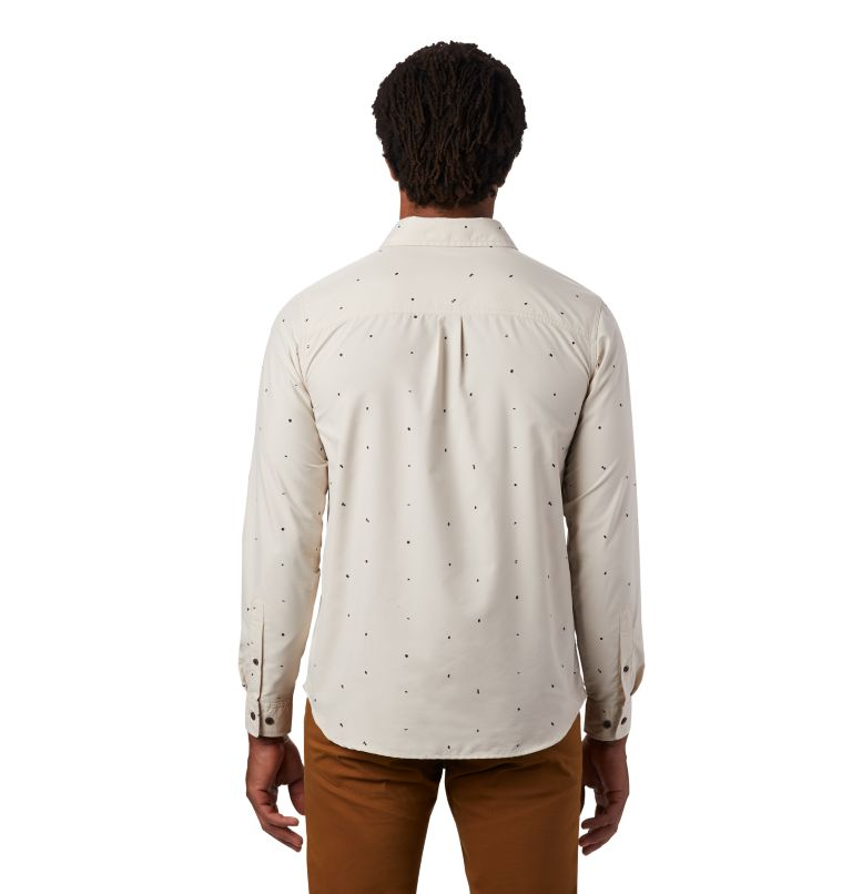 Greenstone™ Long Sleeve Shirt | 165 | L Men's Greenstone™ Long Sleeve Shirt, Lightlands Dot Scatter Prt, back