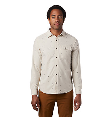 Men's Greenstone™ Long Sleeve Shirt Greenstone™ Long Sleeve Shirt | 663 | L, Lightlands Dot Scatter Prt, front
