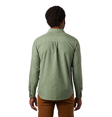 Men's Greenstone™ Long Sleeve Shirt Greenstone™ Long Sleeve Shirt | 663 | L, Field Scatter Dot Prt, back