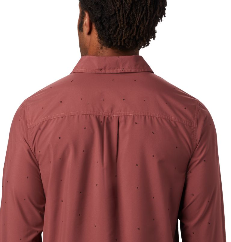 Greenstone™ Long Sleeve Shirt | 663 | XXL Men's Greenstone™ Long Sleeve Shirt, Washed Rock Scatter Dot Print, a3