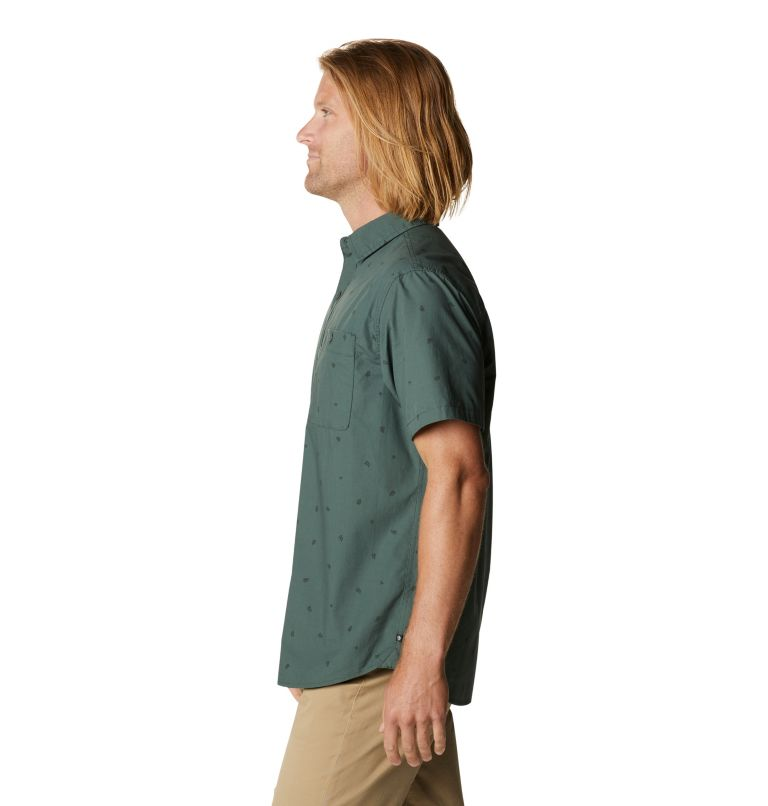 Conness Lakes™ Short Sleeve Shirt | 352 | XL Men's Conness Lakes™ Short Sleeve Shirt, Black Spruce Grasslands Print, a1