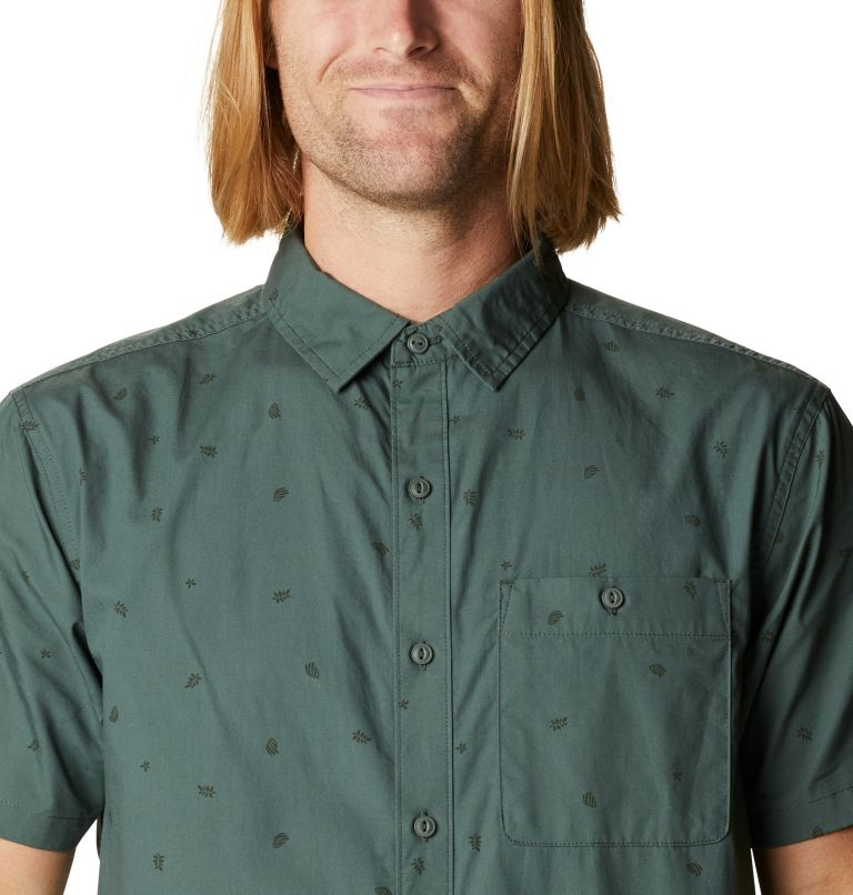 Conness Lakes™ Short Sleeve Shirt | 352 | XL Men's Conness Lakes™ Short Sleeve Shirt, Black Spruce Grasslands Print, a2