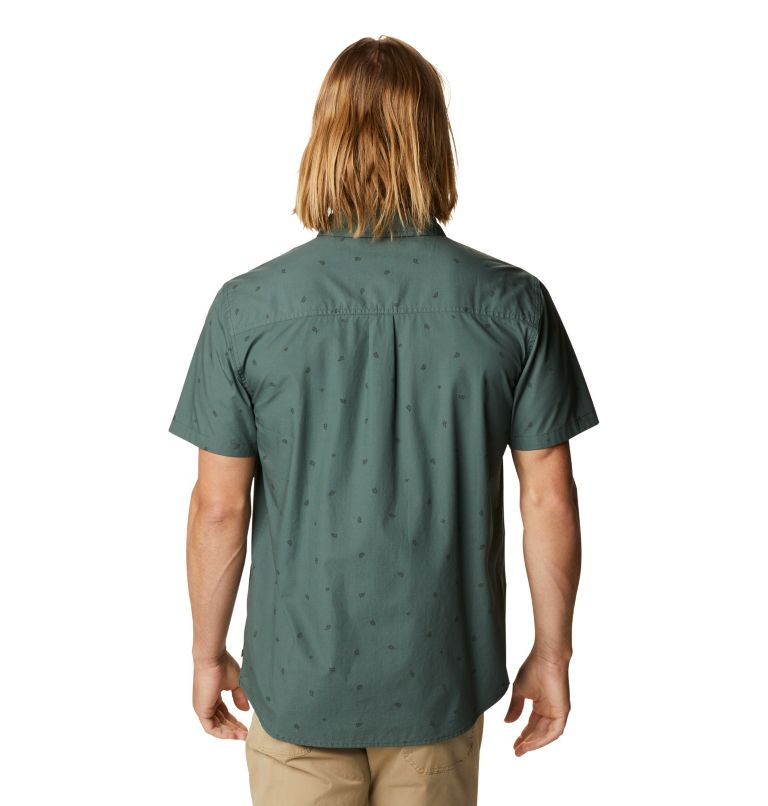 Conness Lakes™ Short Sleeve Shirt | 352 | XXL Men's Conness Lakes™ Short Sleeve Shirt, Black Spruce Grasslands Print, back