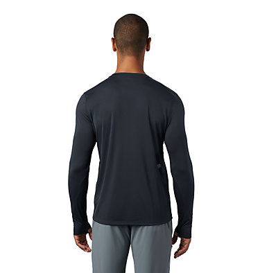 Men's Wicked Tech™ Long Sleeve T-Shirt Wicked Tech™ Long Sleeve T | 402 | L, Dark Storm, back