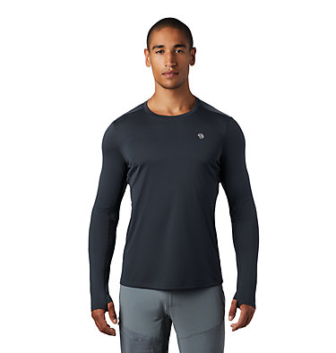 Men's Wicked Tech™ Long Sleeve T-Shirt Wicked Tech™ Long Sleeve T | 402 | L, Dark Storm, front