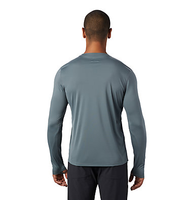 Men's Wicked Tech™ Long Sleeve T-Shirt Wicked Tech™ Long Sleeve T | 402 | L, Light Storm, back
