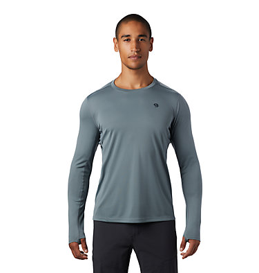 Men's Wicked Tech™ Long Sleeve T-Shirt Wicked Tech™ Long Sleeve T | 402 | L, Light Storm, front