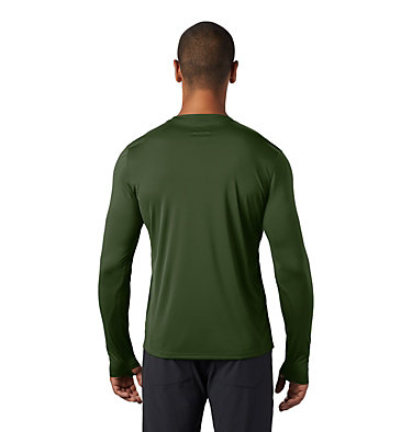 Men's Wicked Tech™ Long Sleeve T-Shirt Wicked Tech™ Long Sleeve T | 402 | L, Dark Army, back