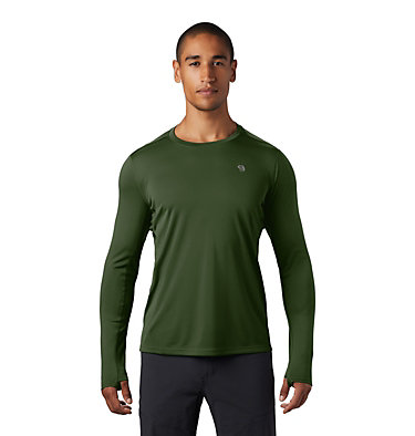 Men's Wicked Tech™ Long Sleeve T-Shirt Wicked Tech™ Long Sleeve T | 402 | L, Dark Army, front
