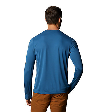 Men's Wicked Tech™ Long Sleeve T-Shirt Wicked Tech™ Long Sleeve T | 402 | L, Blue Horizon, back