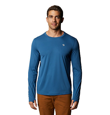 Men's Wicked Tech™ Long Sleeve T-Shirt Wicked Tech™ Long Sleeve T | 402 | L, Blue Horizon, front